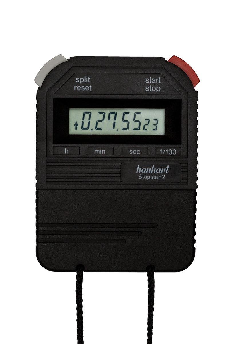 Hanhart electronische stopwatch  Stopstar 2  -  211.1712-00  - 1/100 sec. - Hanhart