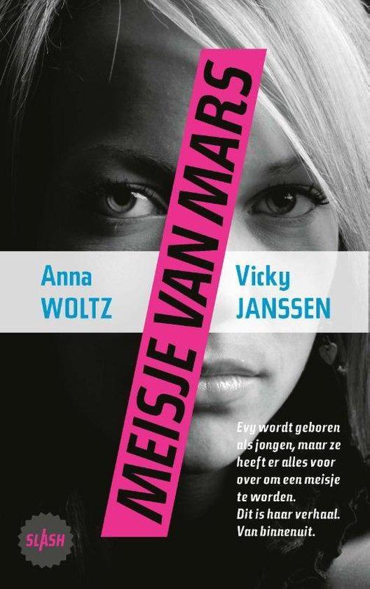 Boek cover Meisje van Mars van Anna Woltz (Paperback)
