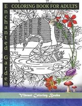 Coloring Book For Adults Enchanted Garden