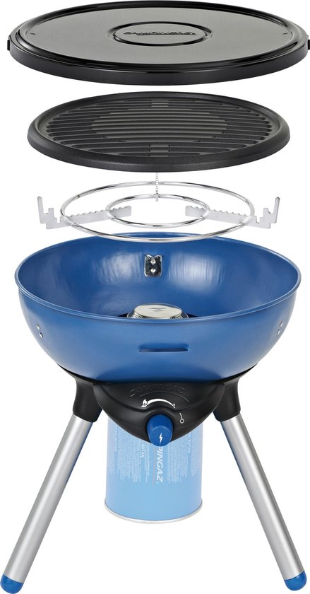 Campingaz Grill-/bakplaat - Party Grill 200 - Blauw