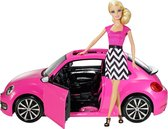 Barbie New Beetle - Barbie auto met pop