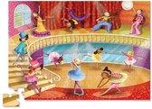 Crocodile Creek Junior Shaped Box Puzzle - Dance (72 st.)