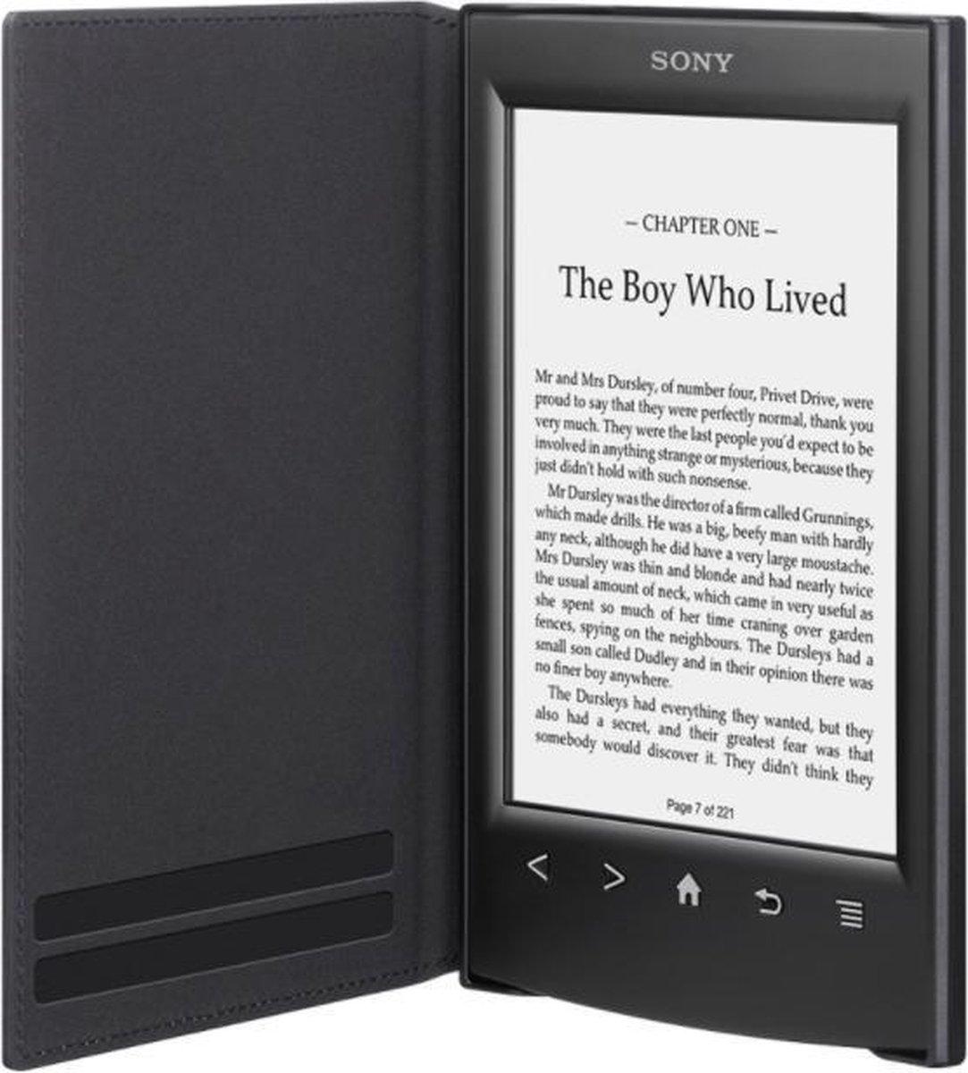 Sony - PRSA-SC22 Cover voor T1, T2 en T2N - Zwart