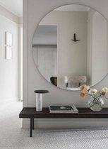 Ronde Spiegel Zonder Lijst - 100x100 cm - Transparant