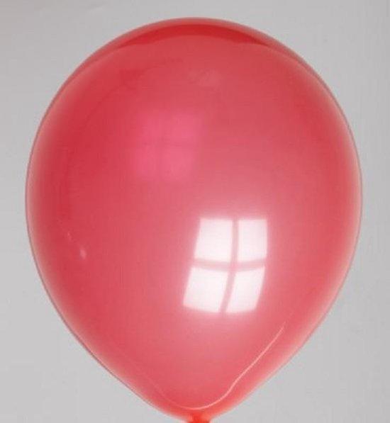 100 gewone ballonnen 30 cm rood