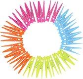 Plastic wasknijpers 32 stuks