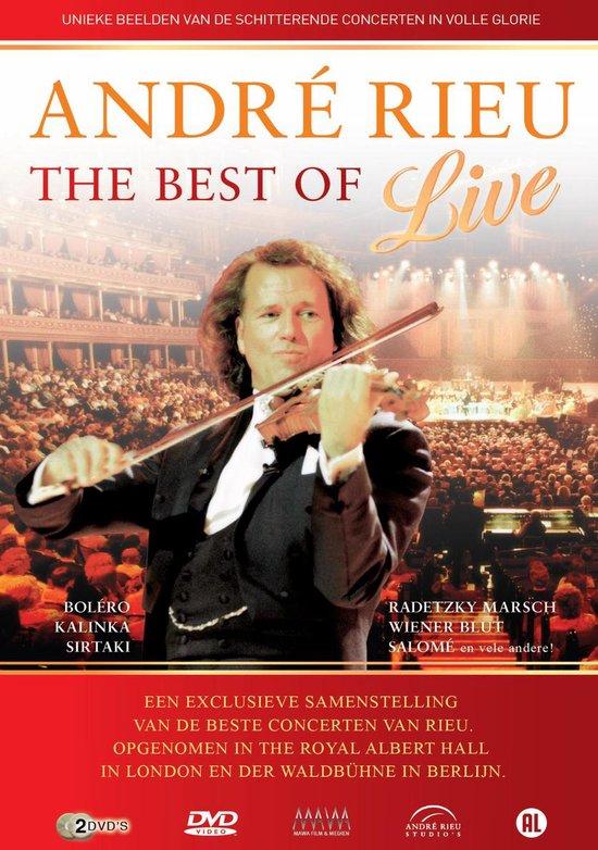 CD cover van Andre Rieu - The Best Of (Live) van André Rieu