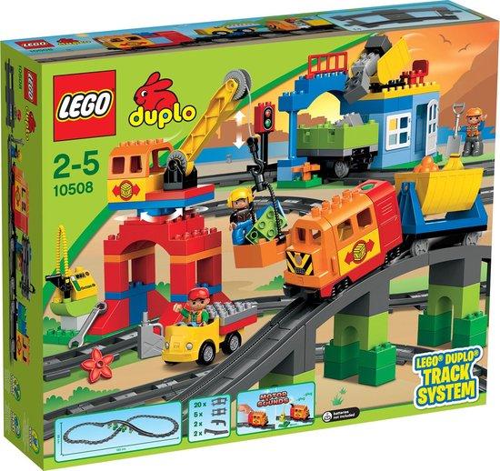 Afbeelding van LEGO DUPLO Luxe Treinset - 10508 speelgoed