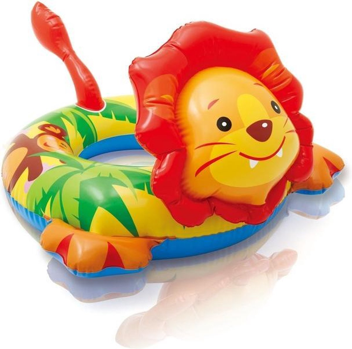 Zwemband opblaasbaar leeuw 51 cm