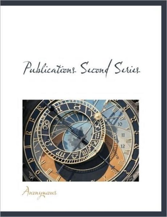 Publications Second Series