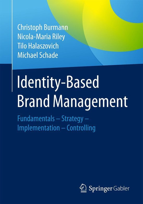Boek cover Identity-Based Brand Management van Christoph Burmann (Onbekend)
