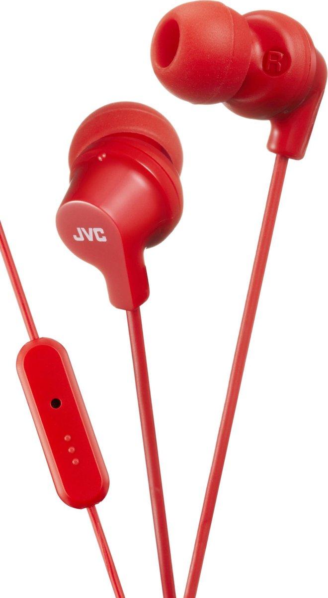HA-FR15RE In-ear hoofdtelefoon Bright red