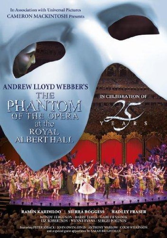 Cover van de film 'Phantom Of The Opera At..'