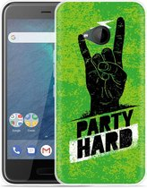 HTC U11 Life Hoesje Party Hard 3.0