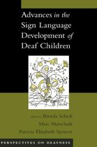 Advances in the Sign-Language Development of Deaf Children