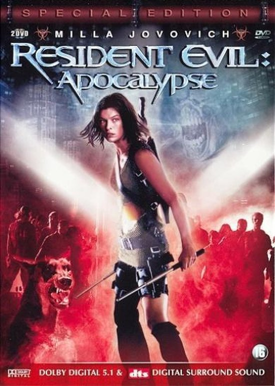 Cover van de film 'Resident Evil: Apocalypse'