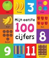 Boek cover Mijn eerste 100  -   Mijn eerste 100 cijfers van Natalie Munday (Hardcover)