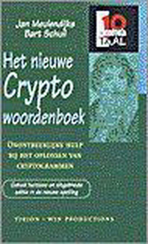 Het Nieuwe Cryptowoordenboek - Jan Meulendijks |