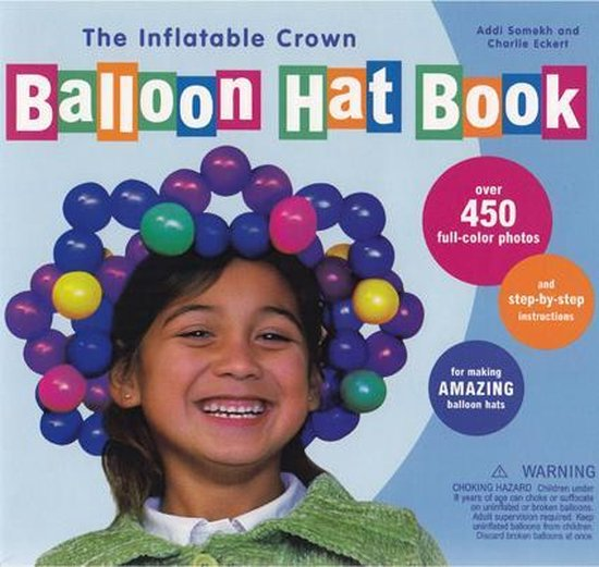 The Balloon Hat Book + ballonnen + pompje