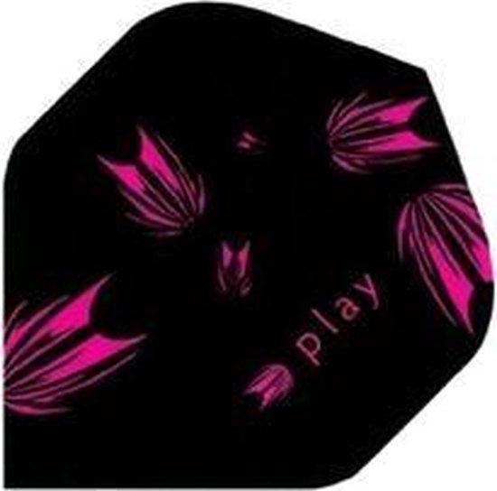 Afbeelding van het spel Target Pro 100 flight Zwart met Roze accenten
