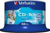 Verbatim DataLifePlus - Printable - CD-R - 52x 700 MB