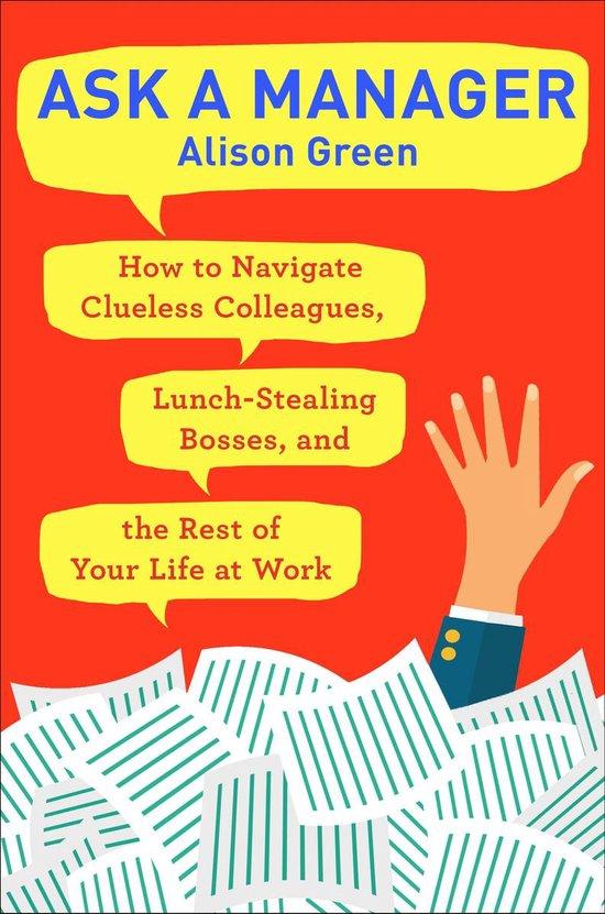 Boek cover Ask a Manager van Alison Green (Paperback)