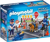 PLAYMOBIL City Action Politiewegversperring - 6924