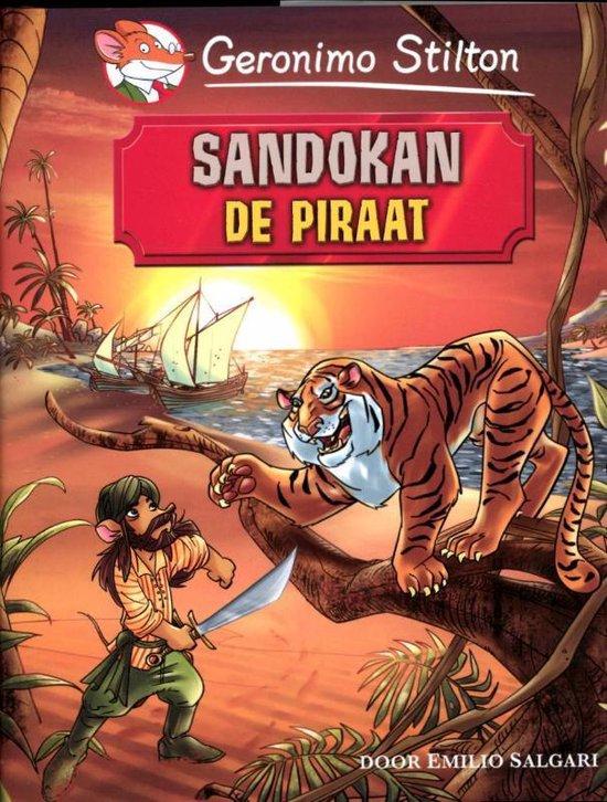 Cover van het boek 'Sandokan, de piraat'