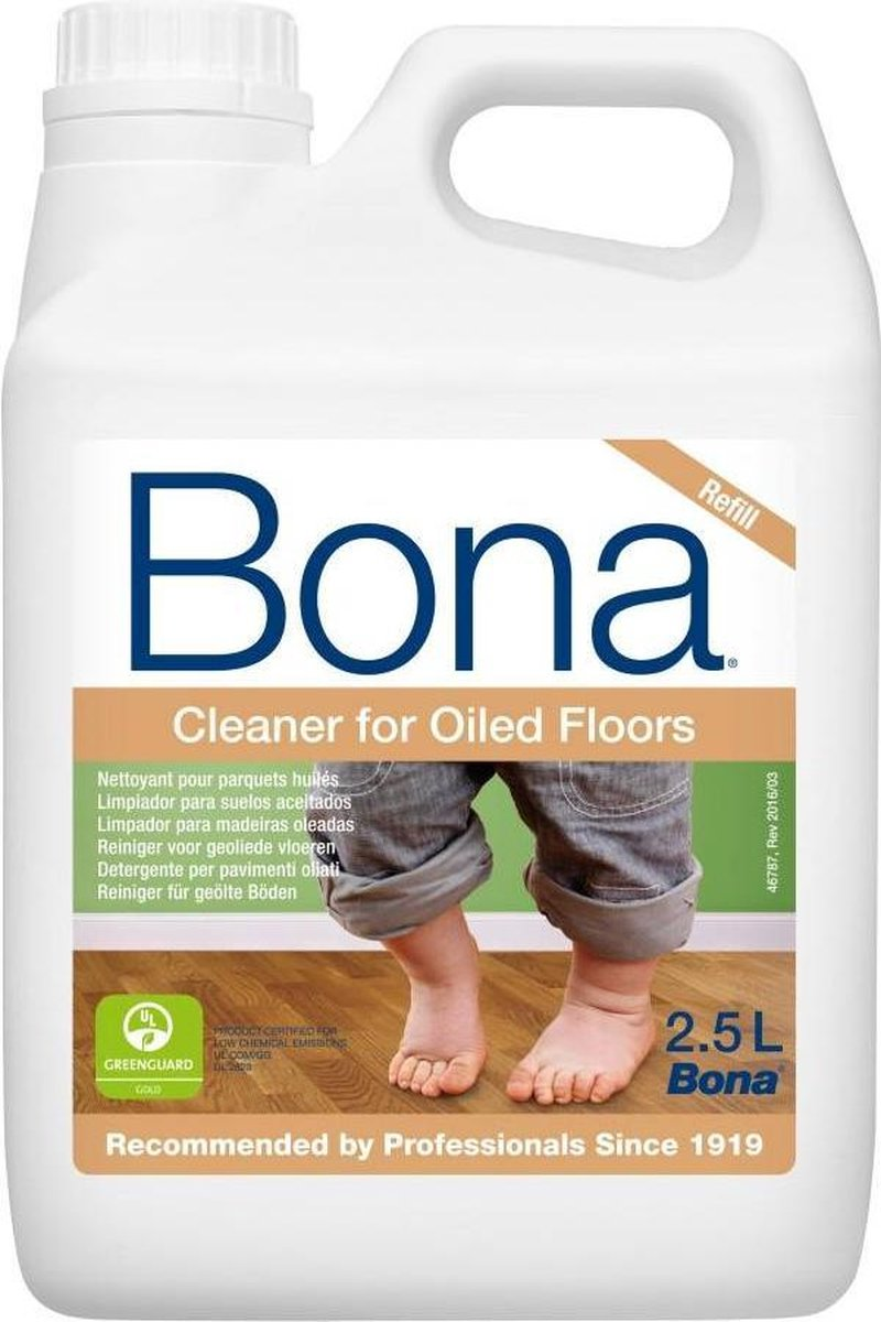Bona Houten Vloer Reiniger Olie Navulling - 2,5 liter