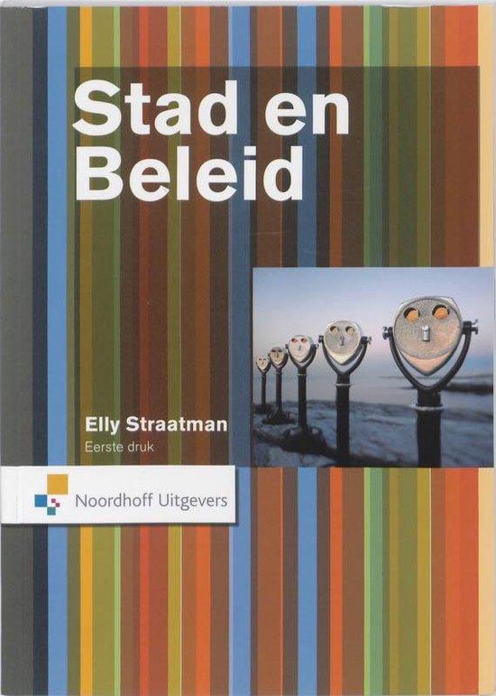 Cover van het boek 'Stad en beleid'
