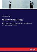Elements of meteorology
