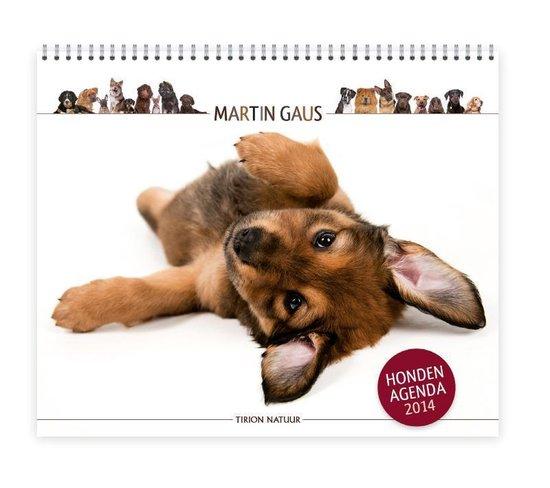 Cover van het boek 'De Martin Gaus hondenagenda  / 2014' van Martin Gaus