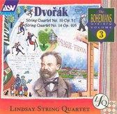 Dvorák: String Quartet No. 10, Op. 51; String Quartet No. 14, Op. 105