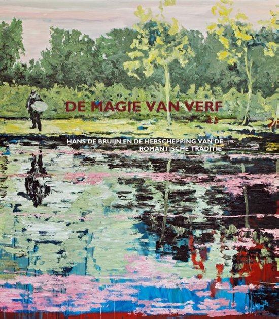 Cover van het boek 'De magie van verf' van Jetteke Bolten-Rempt