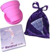 Menstruatiecup - Maat S -Inclusief Magnetron Sterilisator