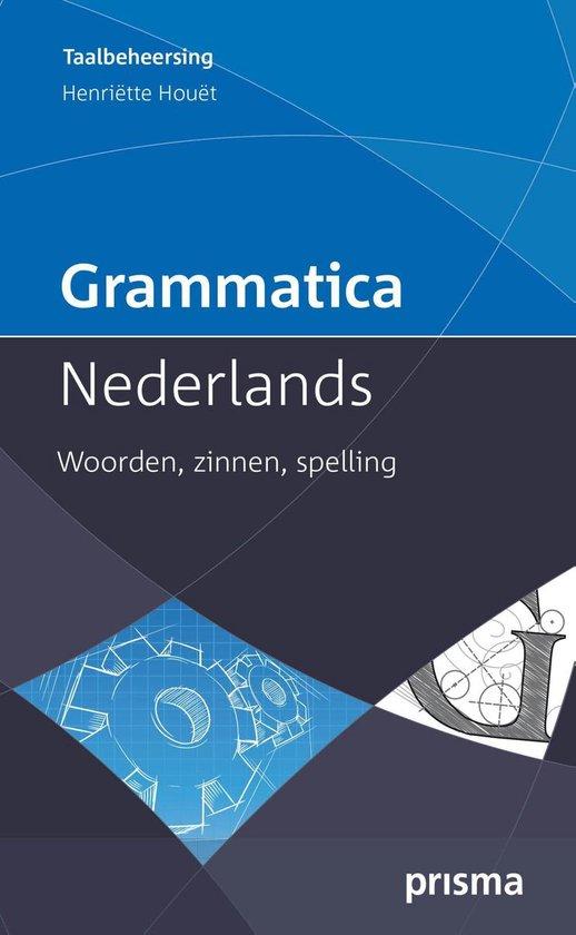 Boek cover Grammatica Nederlands van Henriette Houet (Onbekend)