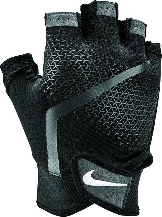 Nike Extreme Fitness Glove Heren  Sporthandschoenen - Mannen - zwart/grijs