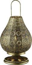 Trio JASMIN - Tafellamp - oud brons - E14