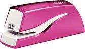 Leitz WOW elektrische nietmachine 10 blad voor nietjes E1 roze