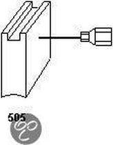 Koolborstel-set 1368 voor Milwaukee handgereedschap, met automatische stop