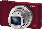 Sony Cybershot DSC-WX500 - Rood