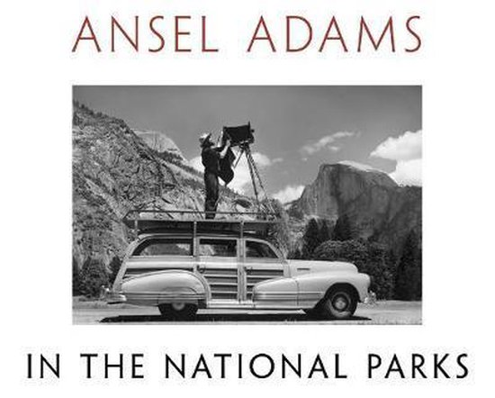Boek cover Ansel Adams in the National Parks van Ansel Adams (Hardcover)