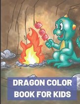Dragon Color Book for Kids
