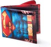 Superman Portemonnee met Cape - Blauw