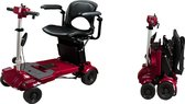 iLiving i3 Opvouwbare elektrische mobiliteit scooter, scootmobiel, Rode