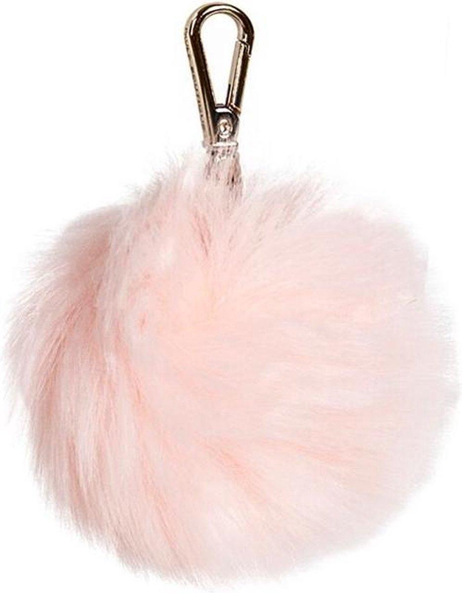 Paul's Boutique - Large Fur Pom - Tashanger - Roze - Paul's Boutique