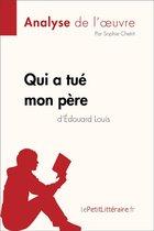 Afbeelding van Qui a tué mon père dÉdouard Louis (Analyse de loeuvre)