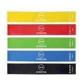 Afbeelding van Gymston Weerstandsbanden Set - 5 elastieken - met draagtas & E-Book