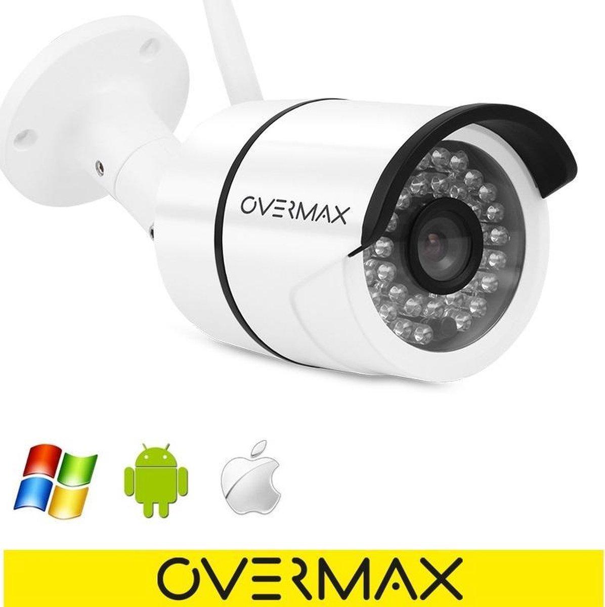 Overmax Camspot 4.5 - Beveiliging camera buiten - Full HD beeldkwaliteit - Wit - Overmax