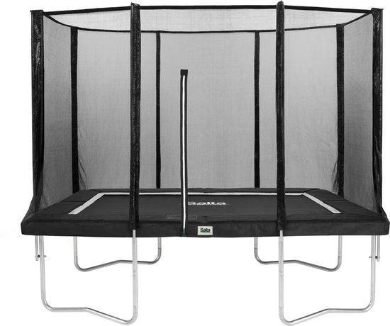 Salta Combo Trampoline met veiligheidsnet - 153 x 213 cm - Antraciet